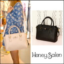 From honey Salon popular ブランドハニサロ you doing great in daily use bag appeared! ハニースクエア Womens shoulder hand Ribbon simple plain