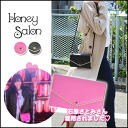 Honey Salon [Honey Salon, your wallet and スマホケース.! We stock from end of August ハートスマホウォレット purse wallet ladies iPhone case multicast