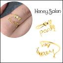 Honey Salon (Salon Honey) cute honey party store (book) (September stock early) ring No. 9 brand ladies (FHA-0788)