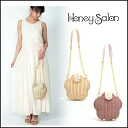 Honey Salon (Salon Honey) store (book) (May-early arrival) flower parlshoulder cago bag ladies also cute brand (FHB-0890)
