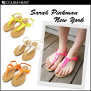 Sarah Pinkman New York end disposal Super Sale BETH thong Sandals Womens shoes Sandals thong sandals | Neon fluorescent pettanko pettanko Sandals | brand SPNY fs3gm