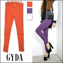 Jada [GYDA] grow better sale! Great comfort in the back hair material! Women's KNEE ZIP パギンス white bottoms