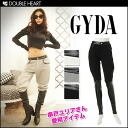 Jada [GYDA] leather toggle cool! レザーコンビスウェット PT sweatpants westergom bottoms ladies mail order [stock] and [071340704701]