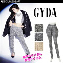Jada yuria-Chan wearing! In the so-called silhouette fun チンオシャレ! Tribal pants PT dates tribal pattern trousers & shorts Womens