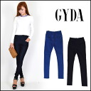 Beautiful leg skinny pants with a feeling of ジェイダ (GYDA) fitting! BACK cross high waist PT denim underwear Kinney Lady's Kushido lily horsefly log mail order (071431407301)