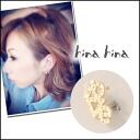 hinahina (hinahina) LOVE series! LOVE yeah ladies earrings year CAF logo love gold Yoshikawa well this blog (ITK)