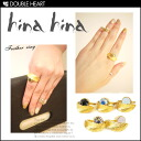 hinahina Womens accessories ring ring feather ring Gold feather stone Pearl Crystal | |