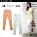 レギパン leggings パギンス skinny ladies stretch skinny pants DOUBLE HEART select brand Korea | Korea leg plain S M L | 2013 Spring summer new brand ranking fs3gm