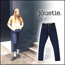 Stuck to the jetty (jouetie) mail-order quality denim line! Servichtatpard denim women's straight jeans jeans blog Ami Aya AMIAYA (081441400101)