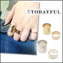 ≪Resale decision! ≫ TODAYFUL[ today full ]LIFE's[ life] mail order [going to be received the middle of September ]Plain Ring Set ring ring silver set Lady's Satoshi Yoshida incense blog Pi(P] [11420911]#203