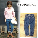 TODAYFUL [トゥデイフル] LIFE's [life] the stock 10-early BETTY's Denim denim pants women's jeans jeans high waist Yoshida Reika Pi (P-CHAN) shopping blog [11421402] # 203