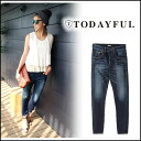 TODAYFUL [トゥデイフル] LIFE's [life], stock 8-early EMILY's Denim denim pants women's jeans jeans skinny straight Yoshida Reika Pi (P-CHAN) shopping blog [11421408] # 203