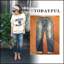 TODAYFUL[ today full ]LIFE's[ life] mail order [going to be received the beginning of December ]Kevin's Denim Lady's underwear straight denim jeans Satoshi Yoshida incense Pi(P] blog [11421411]#203