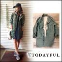 TODAYFUL [トゥデイフル] LIFE's [life] and stock 11-early Work Coat work coat ladies military jacket coat outerwear mods coat Yoshida Reika Pi (P-CHAN) shopping blog [11420012] #20305P01Jun14