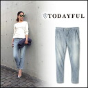 TODAYFUL (today for) LIFE's (life's) store (book) (stock 3 months early) Hickory PT Hickory pants Womens denim pants Yoshida Reika Pi # 203 (P-CHAN) blogs (11510702)
