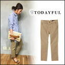 TODAYFUL (today for) LIFE's (life's) store (book) (stock 2 months early) Basic Chino Pants basic Chino pants women's pants straight Yoshida Reika Pi # 203 (P-CHAN) blogs (11510708)