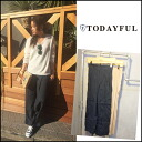 TODAYFUL (today for) LIFE's (life's) store (book) (from the end of June we stock) Center Press wide PT Womens pants wide loose Yoshida Reika Pi # 203 (P-CHAN) blogs (11510724)