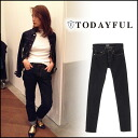 TODAYFUL (today for) LIFE's (life's) store (book) (stock early February) JAMES's Denim women's denim jeans straight pants Yoshida Reika Pi # 203 (P-CHAN) blogs (11511401)