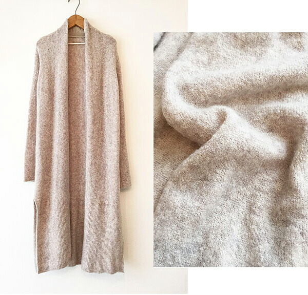 Knitting Pattern For A Long Cardigan : DOUBLEHEART Rakuten Global Market: TODAYFUL today for ...