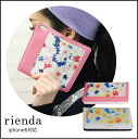 rienda (liendo) iPhone case flower flare iPhone6 case notebook type Handbook card holders with floral flower brands who care store (genuine) (ip6-71289/ip6-71290)