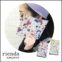 rienda (liendo) smartphone cases for all kinds! Flower flare iPhone6 iPhone5 iPhone5s iPhone5c GALAXY Android case notebook type card case with floral flower brand popularity (genuine)