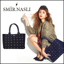 Material perfect for autumn and winter Samir in the a4 is the larger bag to commute Pat! Bijyou studs tote ビジュースタッズトート bag shoulder bag 2-way floor with tacks 2013 new fall