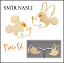 Samir [SMIR NASLI] Mickey Minnie Donald Daisy Pierce [5-end of stock] Mickey Minnie Donald Daisy earrings Disney