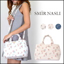 Samir (SMIR NASLI) store (book) (stock 3 months early) Flower 2Way Mini Tote flowerminitort bag ladies shoulder diagonally over canvas cloth large commuting (0106-11738)