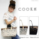 ■ bags for ■ クーラバッグ アンティークレースレオパード BAG M size (CQ10621) bag / Tote /fs3gm