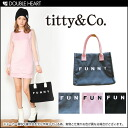 Titi & coffee FUNNY BAG logo is cute! plenty of in the school ◎! Bags handbags sub lunch box 2013 fall winter AWfs3gm.
