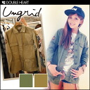 ungrid mens like a military jacket ☆ ワッペンワーク shirt JK jacket outerwear women military studs blog 2013 winter AWfs3gm's