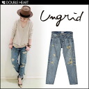 ungrid ヴィンテージクラッシュボーイズデニム bottoms denim boys denim vintage fashionable 2013 fall winter AW fs3gm.
