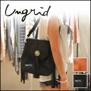 ungrid intergrated with fringe I love ♪ フリンジショルダー BAG bag shoulder diagonally over women's store code blog