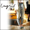 It is today wearing ♪ high waist denim underwear jeans jeans [111421490201] apap8 by ungrid[ Ann grid] [I plan our store arrival from the beginning of May] exhibition