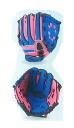 Baseball Junior & kids grab Palm-Gear clutch model blue x pink BG80-20