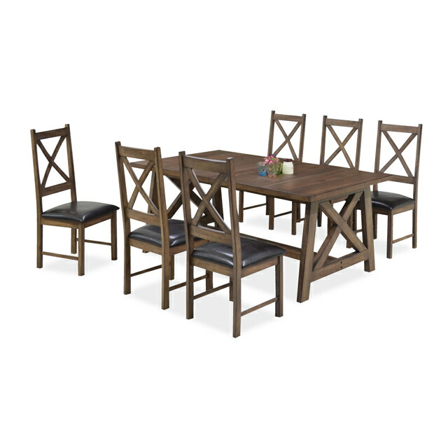 Dreamrand rakuten global market dyningcheier 2 set for Dining room table 6 person