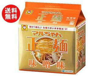 東洋水産マルちゃん正麺味噌味5食パック×6個入