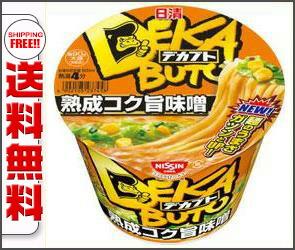 日清食品日清デカブト熟成コク旨味噌119g×12個入