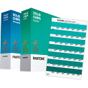 PANTONE ( PANTONE ) (coated and uncoated) PLUS solid chips and 2 book set GP1403 color swatches