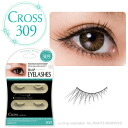 D.U.P Eyelash (false eyelashes) CROSS 309