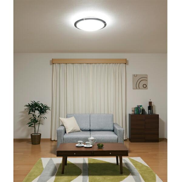 LEDシーリングライト (〜8畳)調光 ブラウン・ダークブラウン CL8D-WF1-T・CL8D-WF1-M アイリスオーヤマ