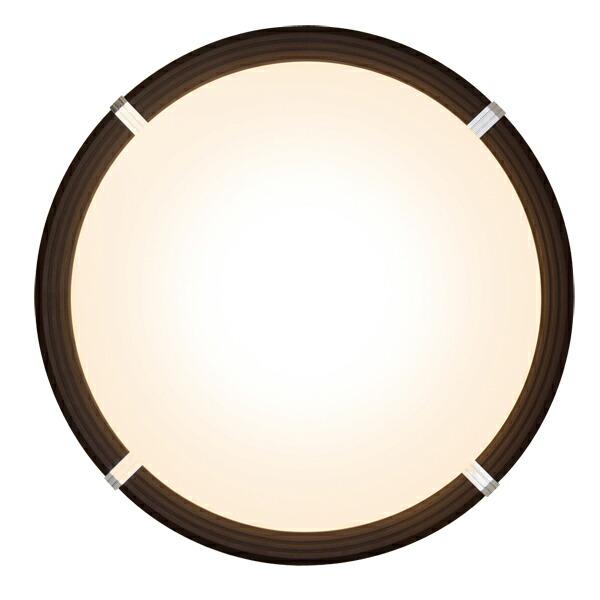 LEDシーリングライト (〜12畳)調光/調色 ブラウン・ダークブラウン CL12DL-WF1-T・CL12DL-WF1-M アイリスオーヤマ