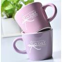 Excellent case present gift original color coffee cup pair set (PERPLE)