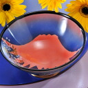[Name put Arita pottery Cup Red Fuji Bowl extra large size