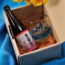 Name put the present awamori Ryukyuan glass with small bottle glass set