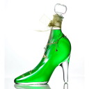 Shoes liqueur kiwi of the excellent case present glass