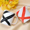 I recommend a ribbon design couple and set a designer mug cup pair (entering gift / gift set / family celebration / marriage family celebration / wedding ceremony / gift in return / present / Father's Day / Mother's Day / respect for the old / sixtieth birthday celebration / name card / name case / name / year-end present / furoshiki / packing)