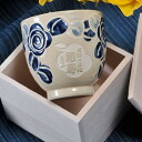 Hasami firing rose design teacup one piece of article