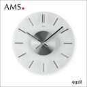 AMS manufactured arms by Germany wall quartz clock wall clock AMS-9318 fs3gm