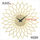 Germany's prestigious brand ams ( AMS ) wall clock デザインク clock ams-9359fs3gm